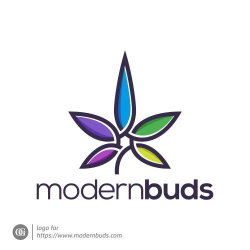 Logo done for modernbuds.com