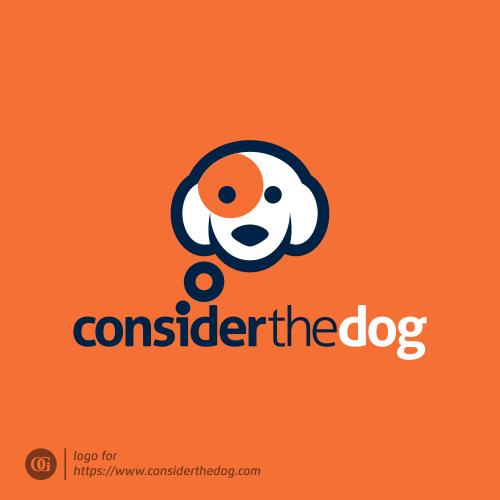 Logo done for considerthedog.com