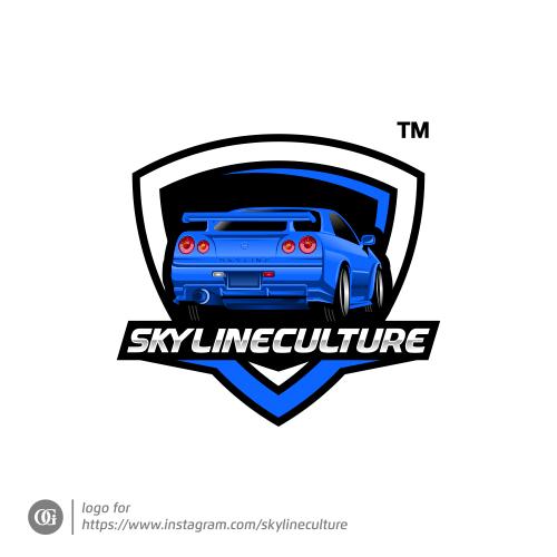 Logo done for instagram.com/skylineculture
