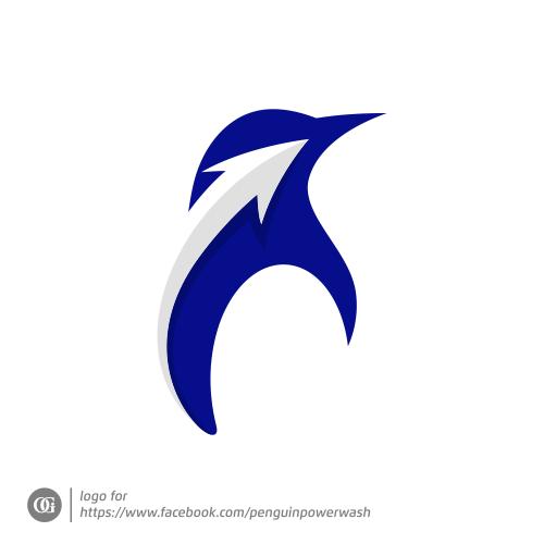 Logo done for facebook.com/penguinpowerwash